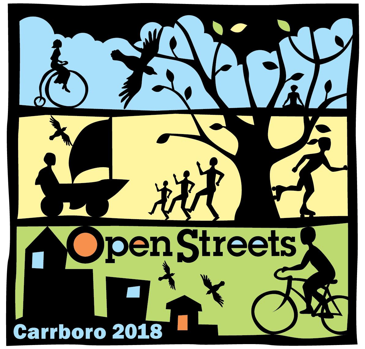 2018 Carrboro Open Streets