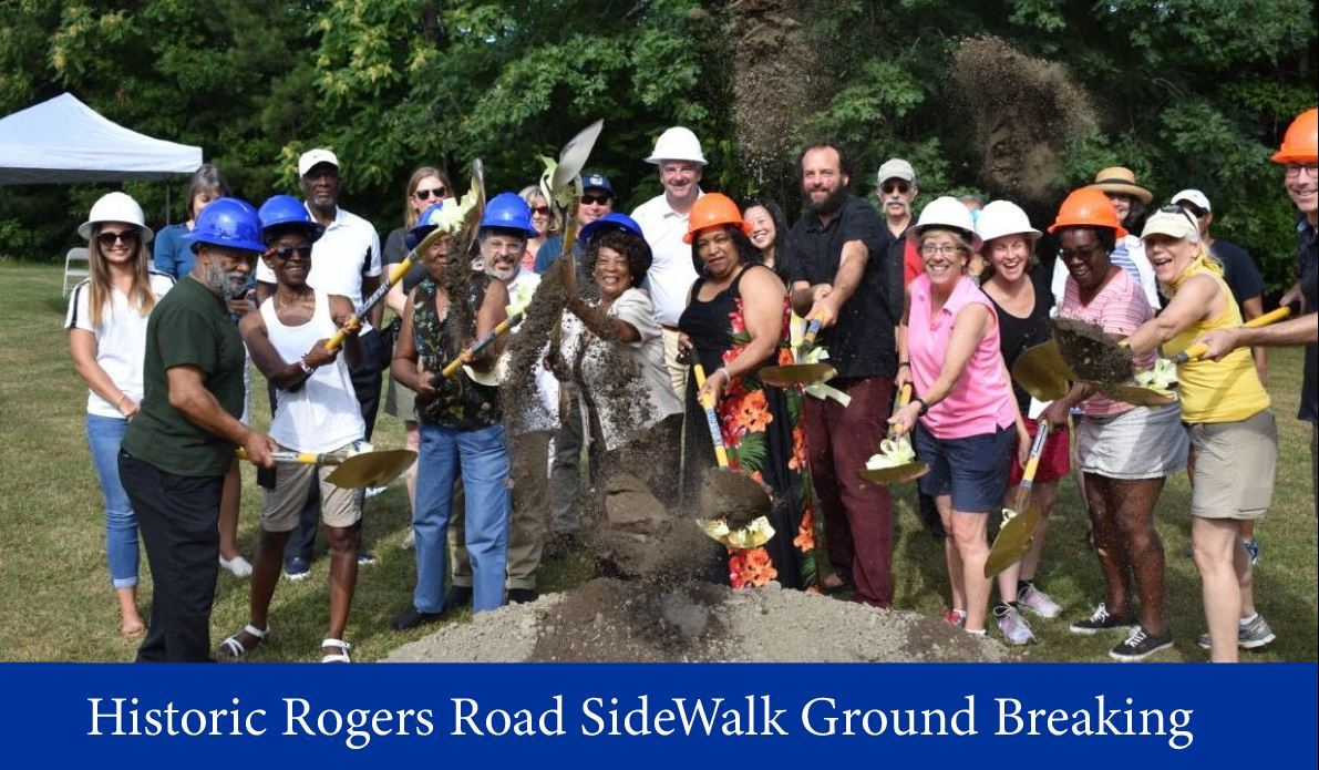 Rogers Road Ground breaking 2018